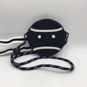 Tory Burch Sport Navy Blue and White Crossbody